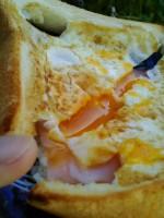 トースト(ベーコン&卵 &チーズ)が異次元に美味すぎて震えた件